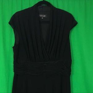 BLACK LABEL by Evan Picone Little Black Dress
